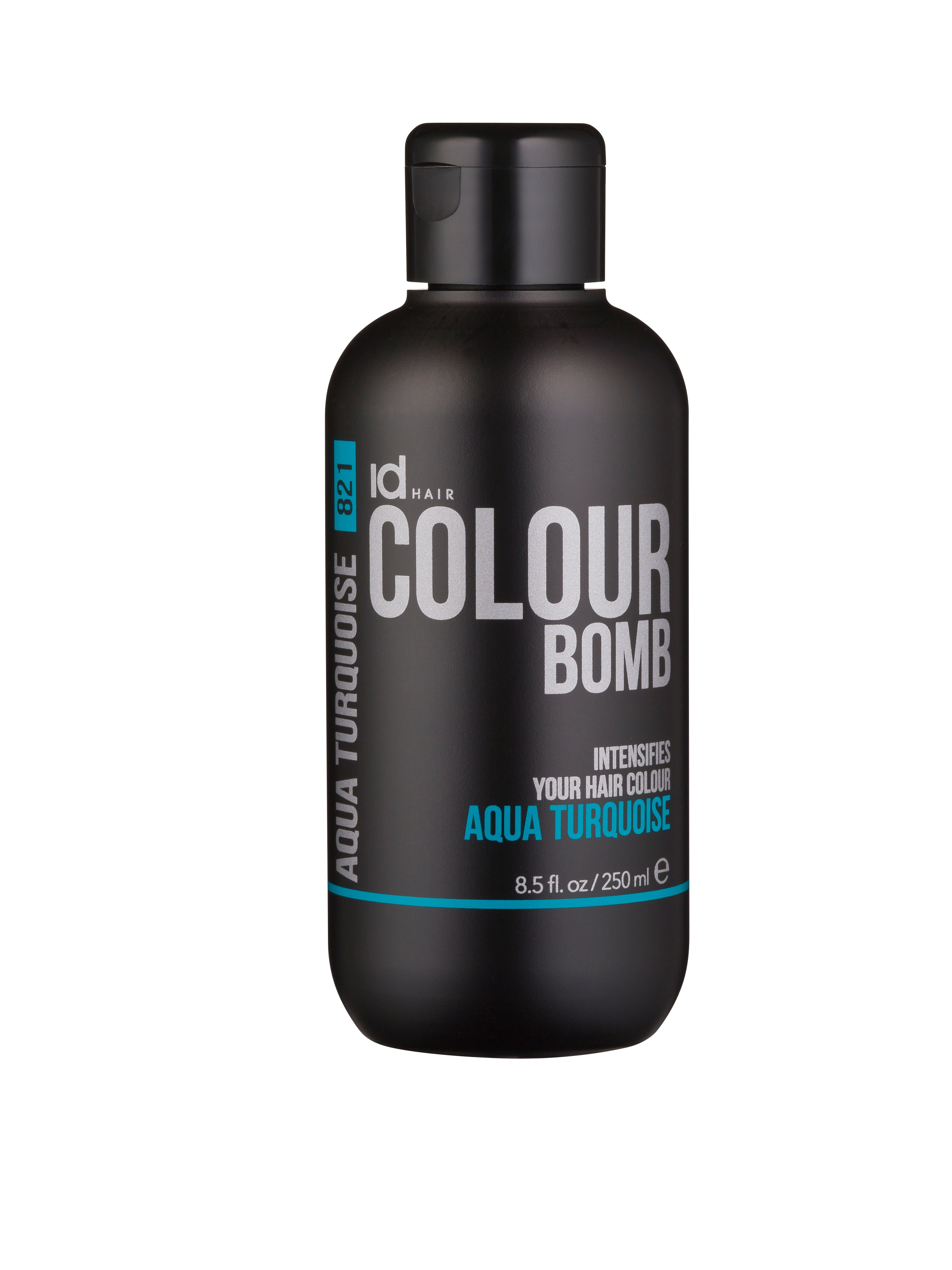 IdHAIR - Colour Bomb 250 ml - Aqua Turquoise