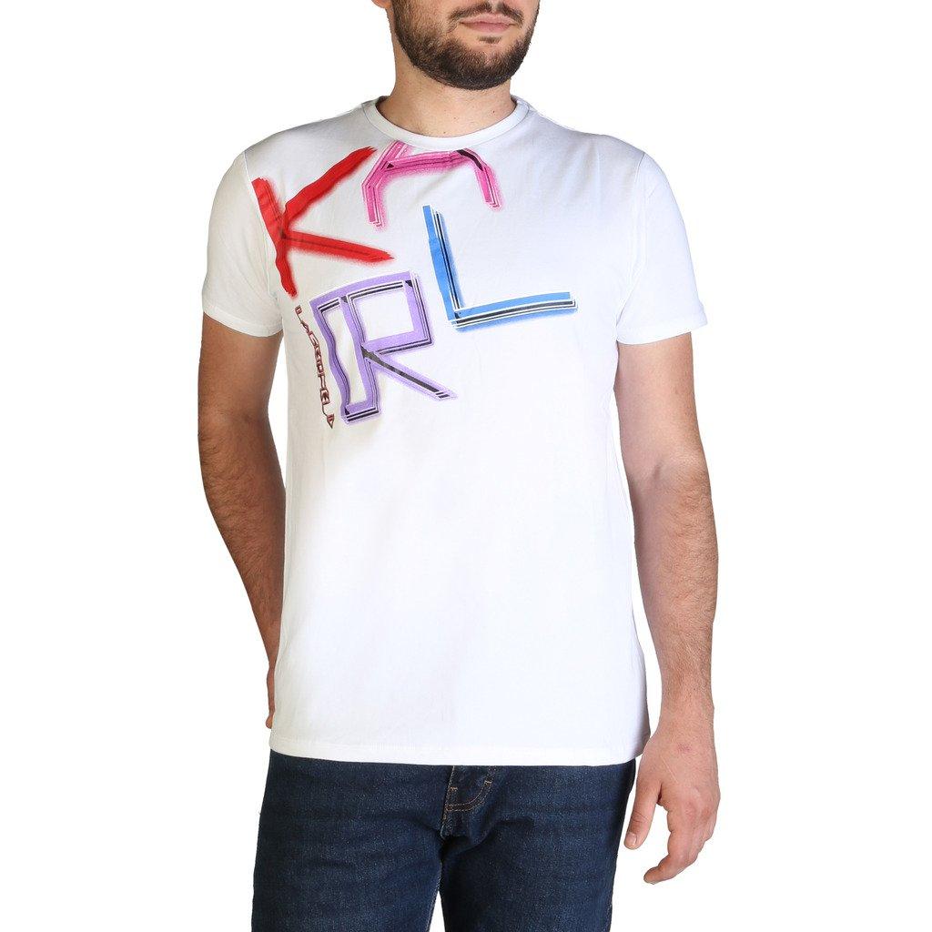 Karl Lagerfeld Men's T-Shirt Various Colours KL21MTS02 - white S