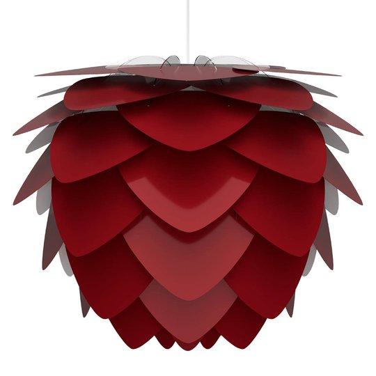 UMAGE Aluvia medium riippuvalo rubiinin punainen