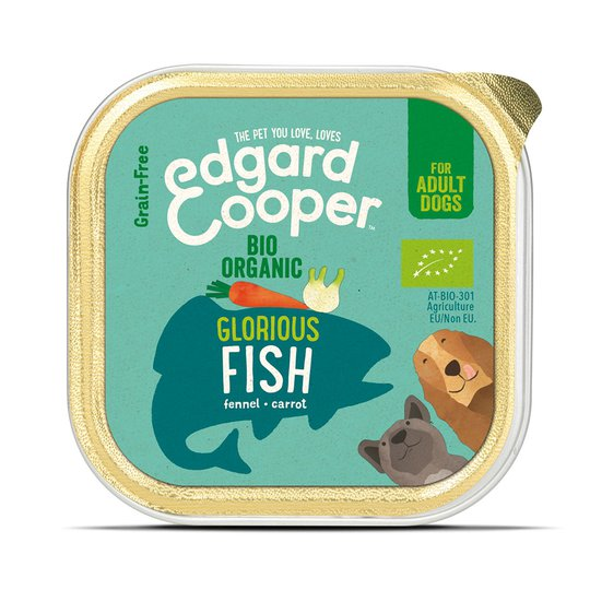 Edgard & Cooper Dog Ekologisk Fisk 100 g