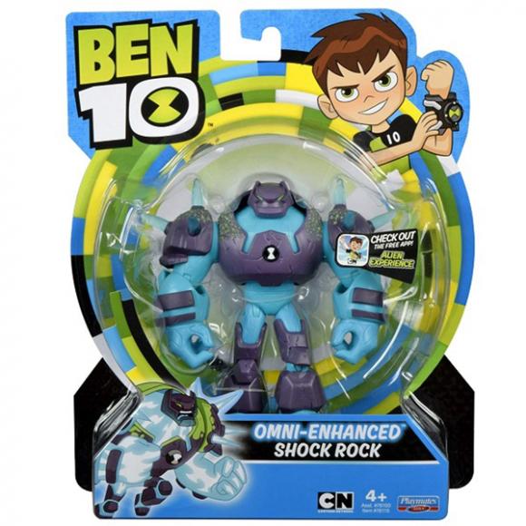 BEN 10 - Heroes & Villains - Shock Rock