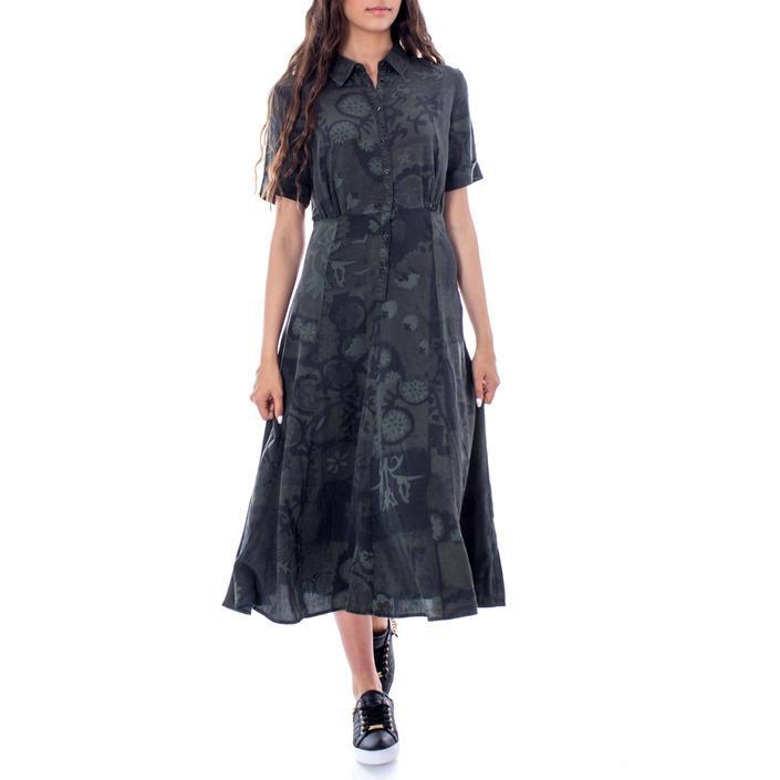 Desigual Women's Dress Green 167791 - green 38
