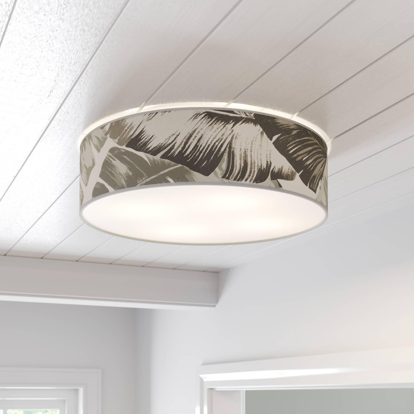 Taklampe Madera med blende rund, Ø 58 cm