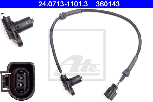 ABS-anturi ATE 24.0713-1101.3