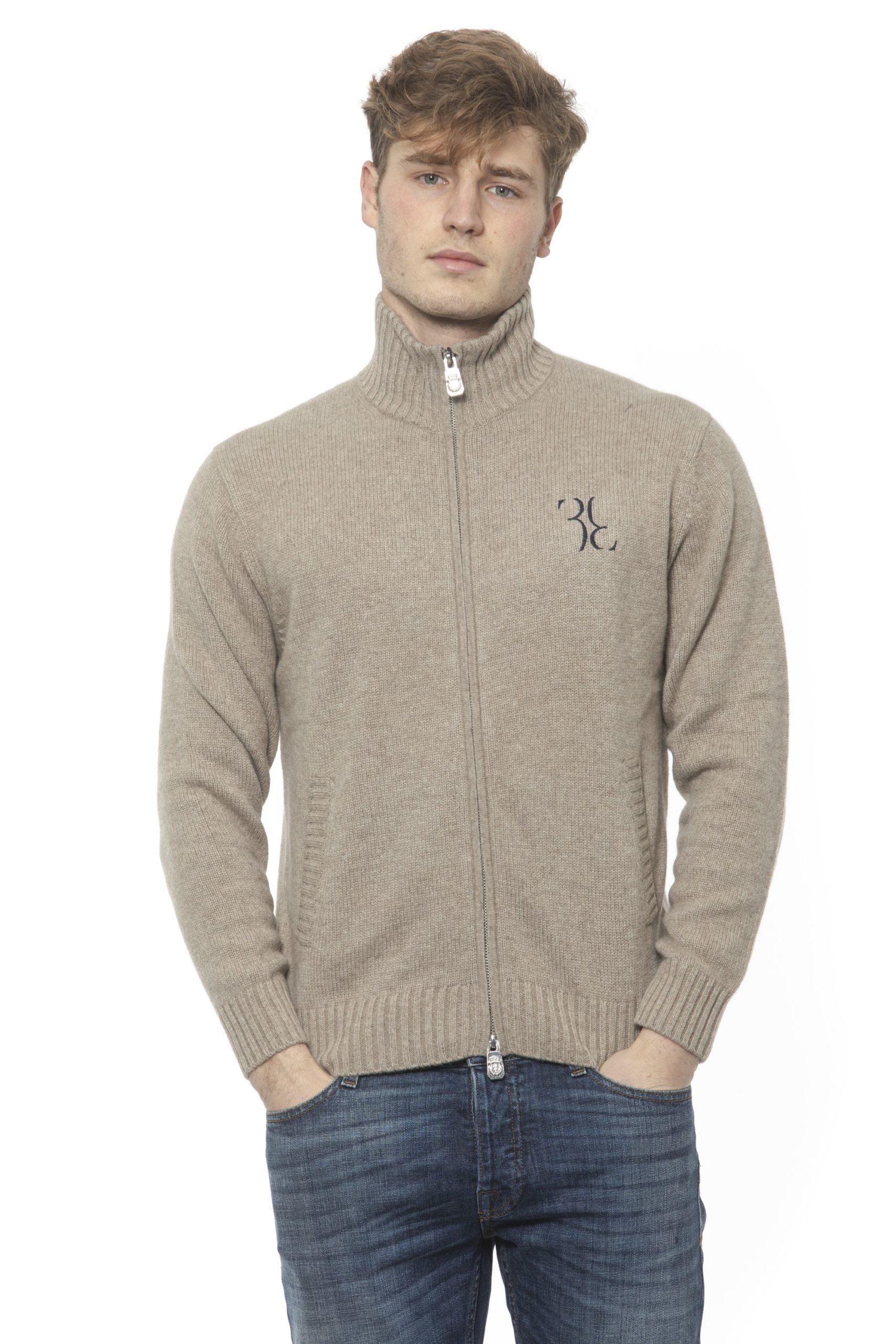 Billionaire Italian Couture Men's Tortora Taupe Sweater Beige BI1313364 - M