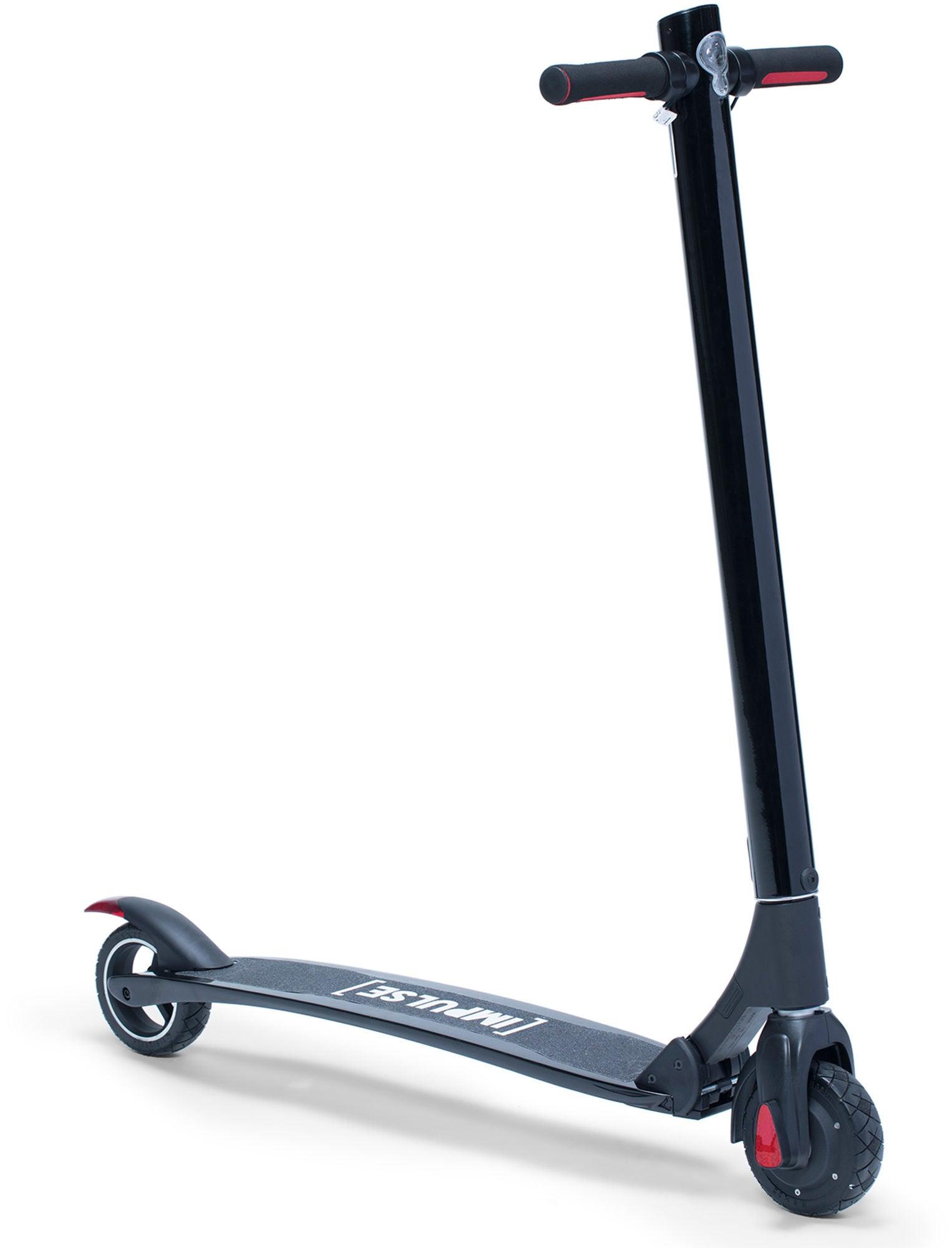 Impulse Carbon Fiber Elektrisk Sparkcykel, Svart