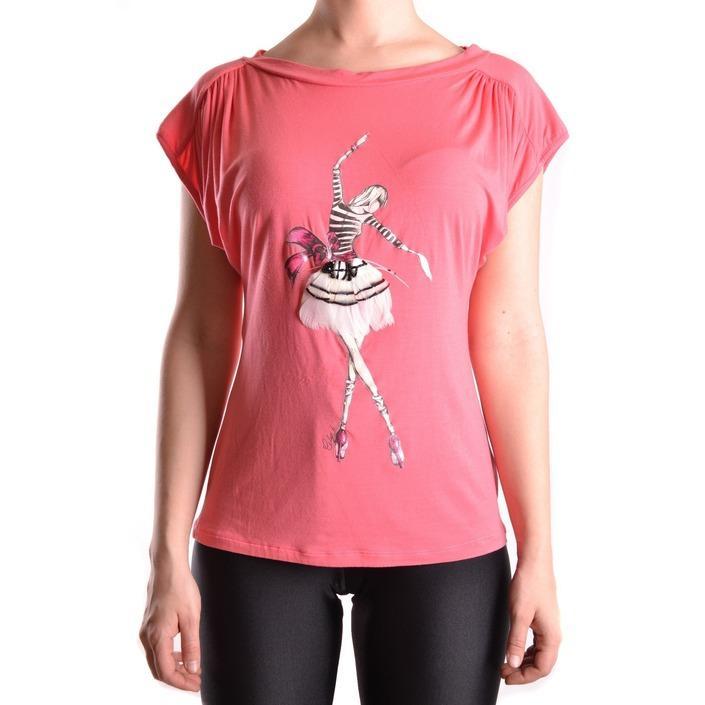 Elisabetta Franchi Women's T-Shirt Coral 161186 - coral 42