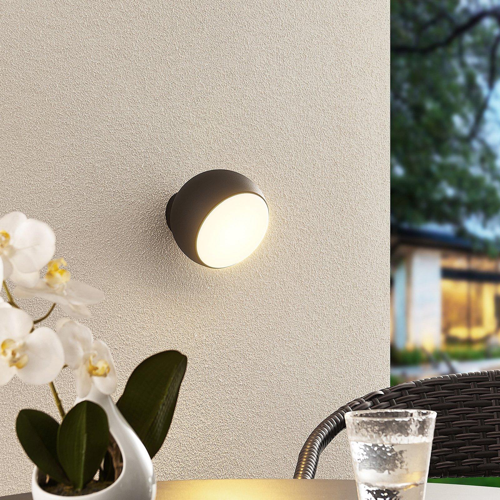 Arcchio Davir LED-vegglampe, bærbar, batteri svart