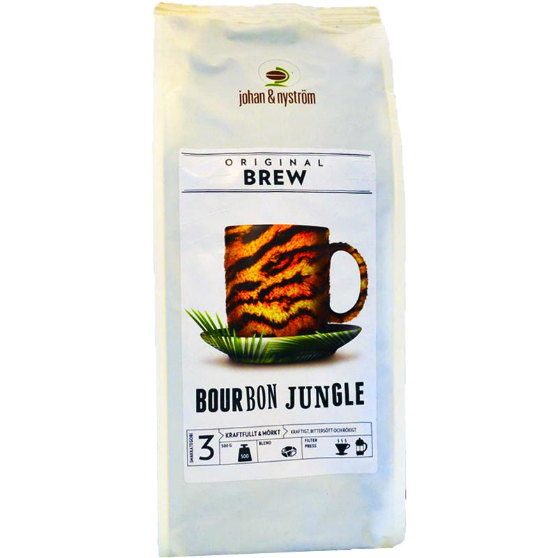 "Kaffebönor ""Bourbon Jungle"" - 65% rabatt"