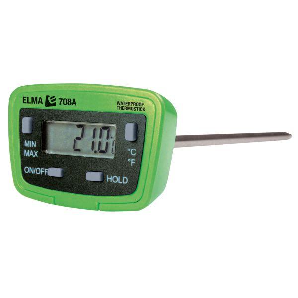 Elma 708 Lämpömittari mittaustikulla