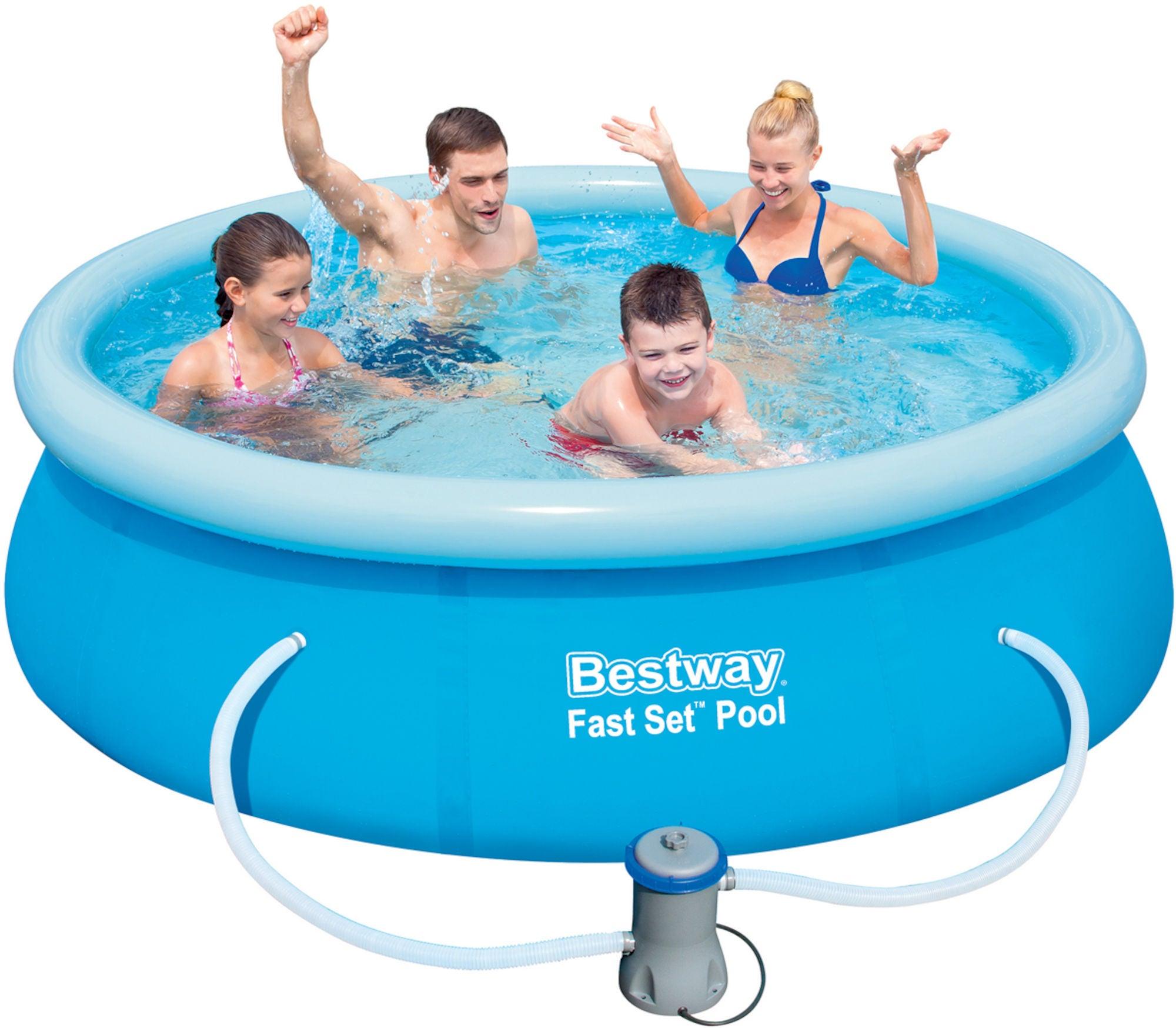 Bestway Fast Set Pool m. Tillbehör Ø244