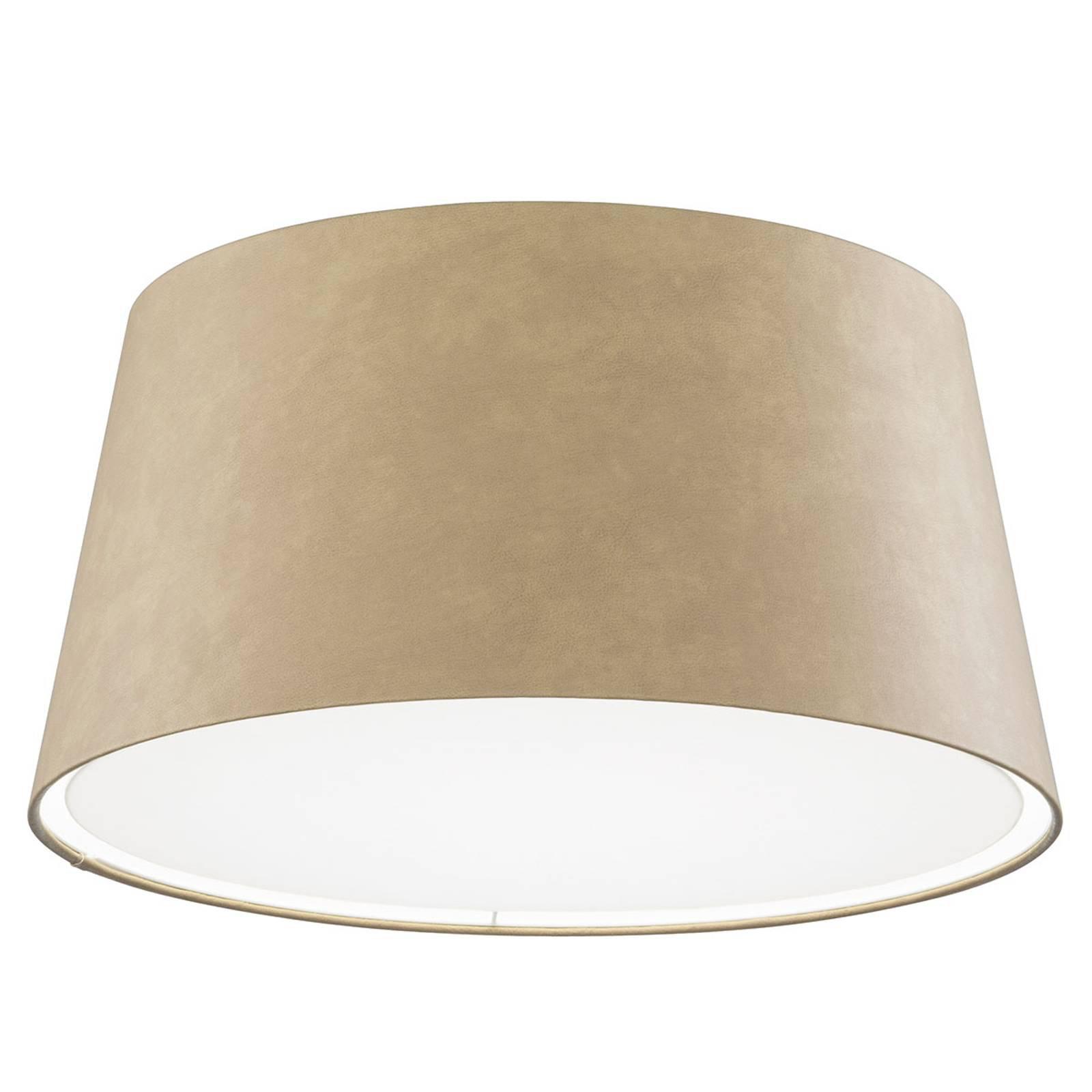 LED-taklampe Louise, dimbar, 3 000 K, sand