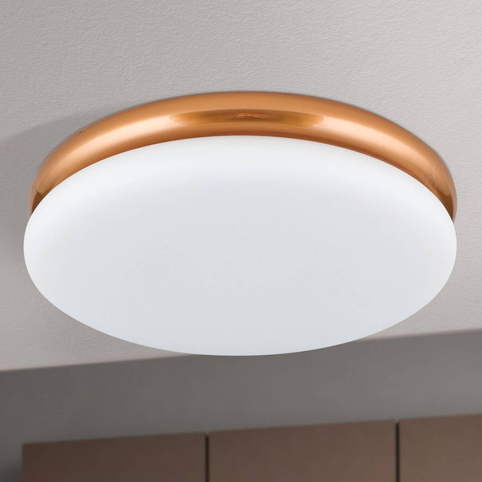LED-kattovalaisin James, metallirunko, kupari