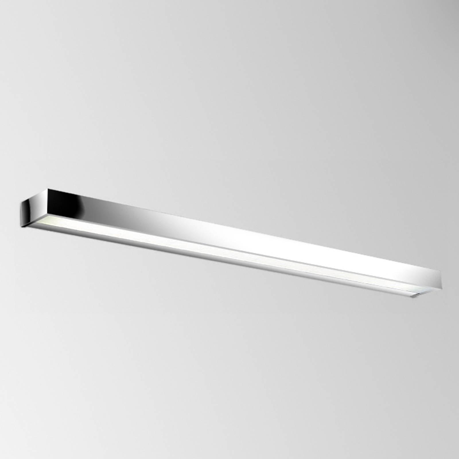 Utmerket LED-vegglampe Apolo, 120 cm krom