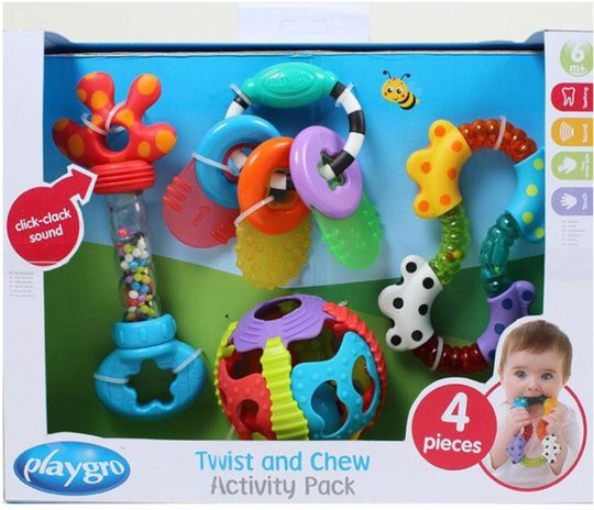 Playgro Gavesett Twist & Chew Activity