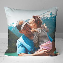 Smooth Linen Photo Cushion