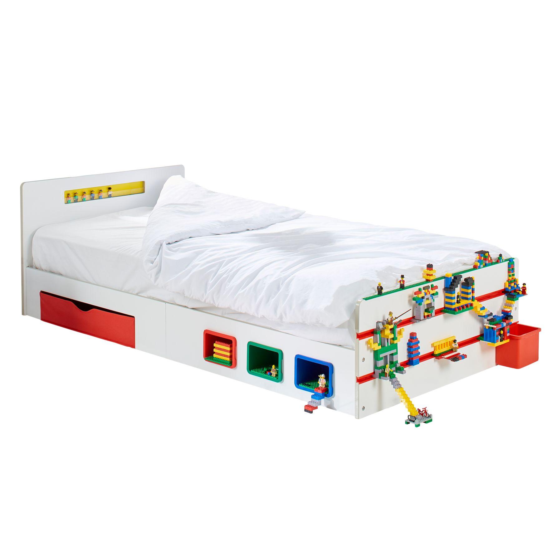 Room 2 Build - Kids 2m Single Bed with Storage (525RTB01EM)