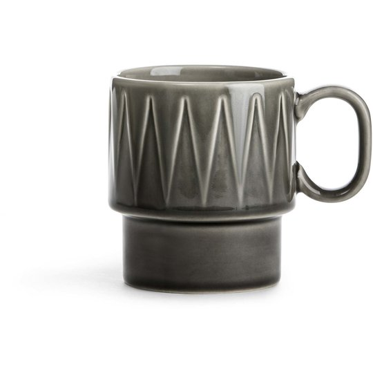 Sagaform Coffee & More kaffemugg grå