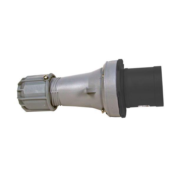 Garo P 463-5 S Pistotulppa IP44, 5-napainen 63A Musta, 5 h
