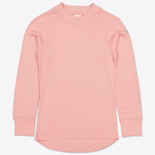 Merinoull trøye rosa
