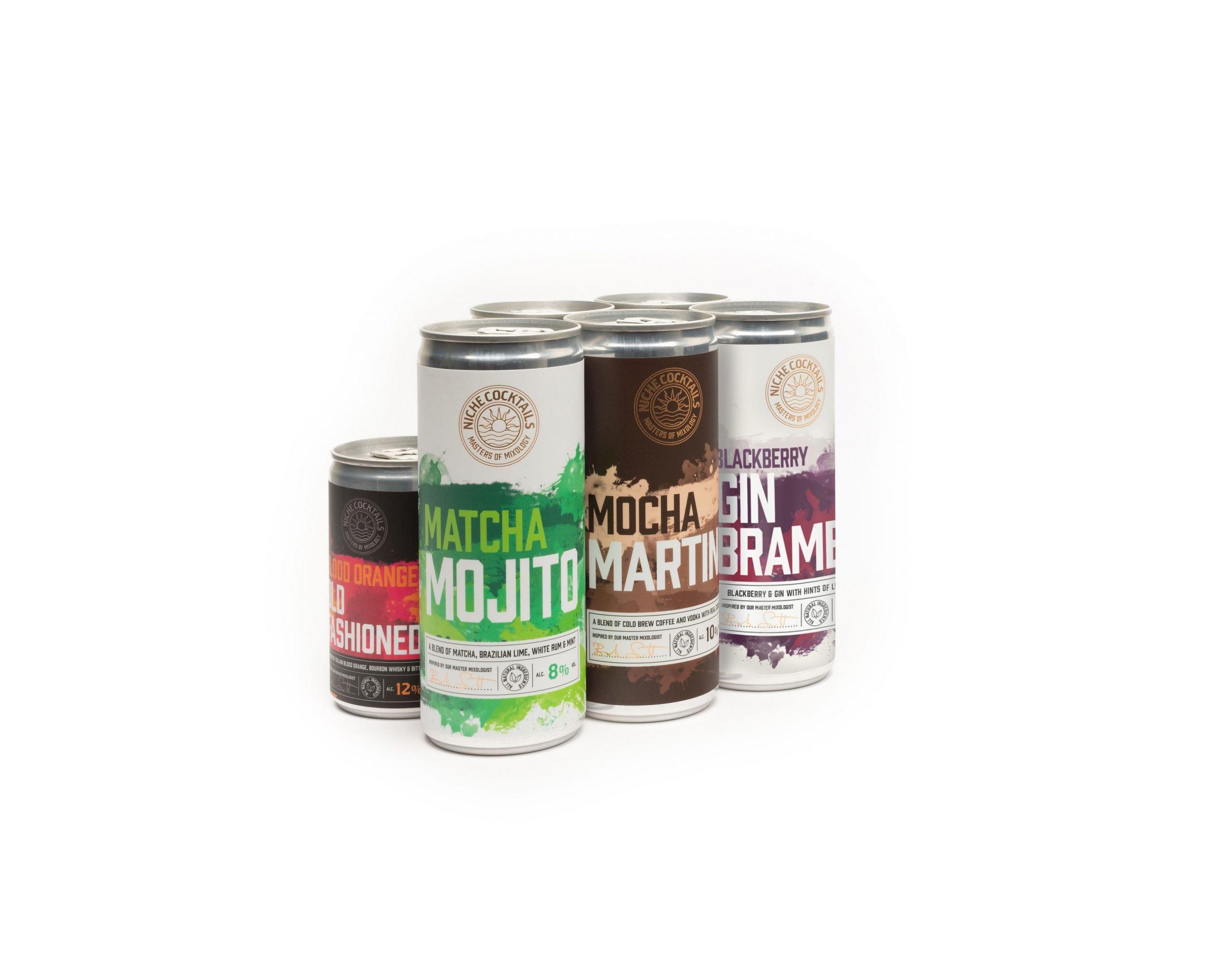 Niche Cocktail Variety 6 Gift Pack — 5x250ml 1x150ml
