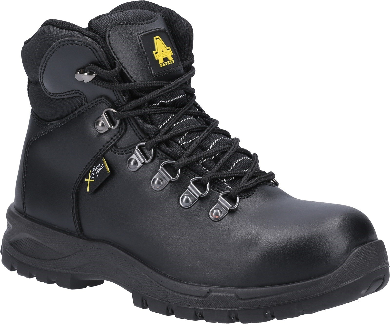 Amblers Safety Women's Boots Black 31376 - Black 3