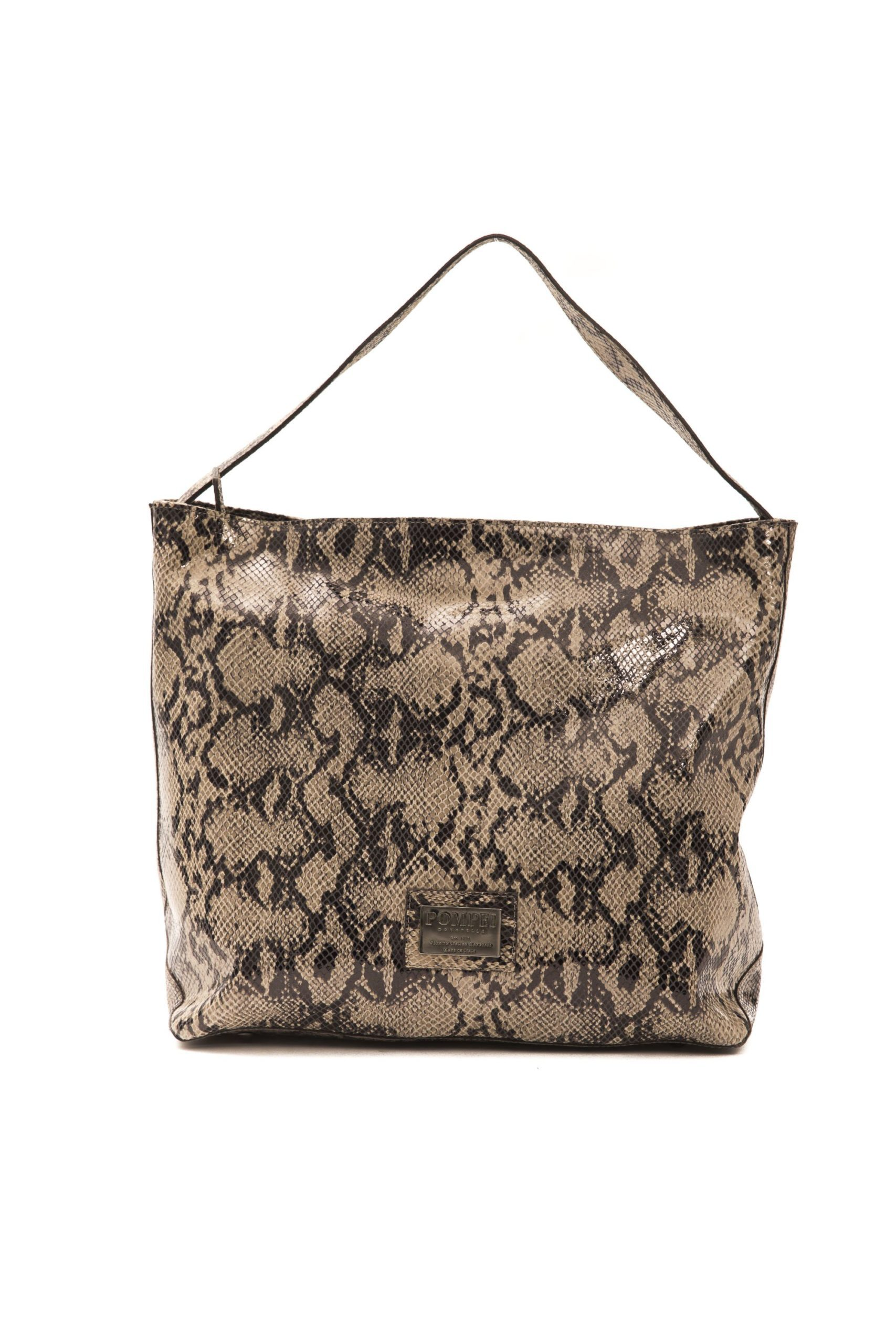 Pompei Donatella Women's Tortora Taupe Shoulder Bag Brown PO1004555