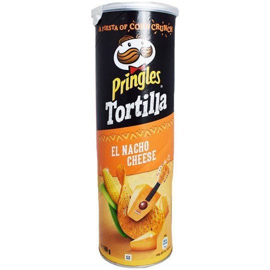 """Tortillachips """"Nacho Cheese"""" 180g - 10% rabatt"""