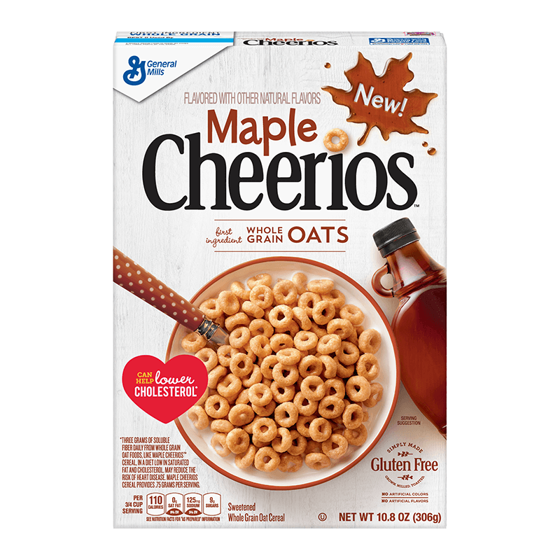 Maple Cheerios Cereal 306g