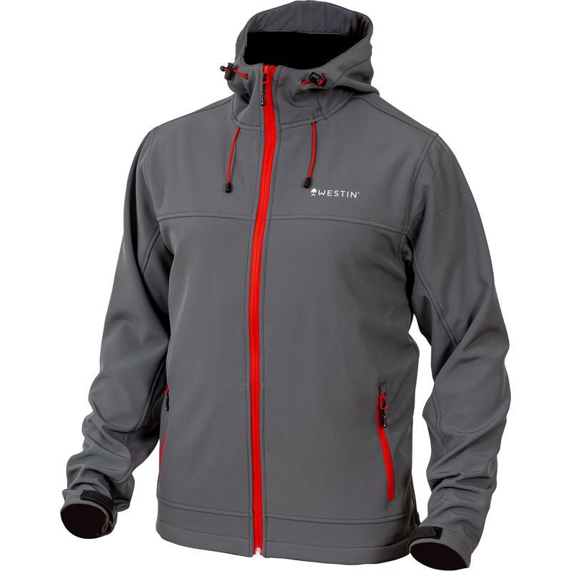 Westin W4 Softshell Jacket L Steel Grey