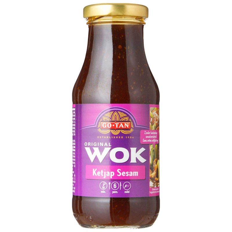 """Wok-kastike, """"Kejap Sesam"""" 240 ml - 50% alennus"""