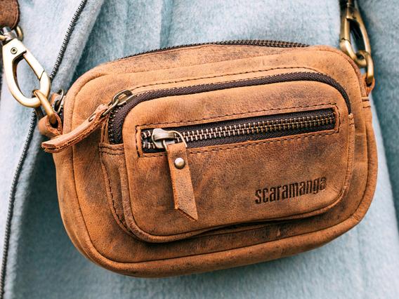 Leather Micro Handbag - The Pixie Extra Small
