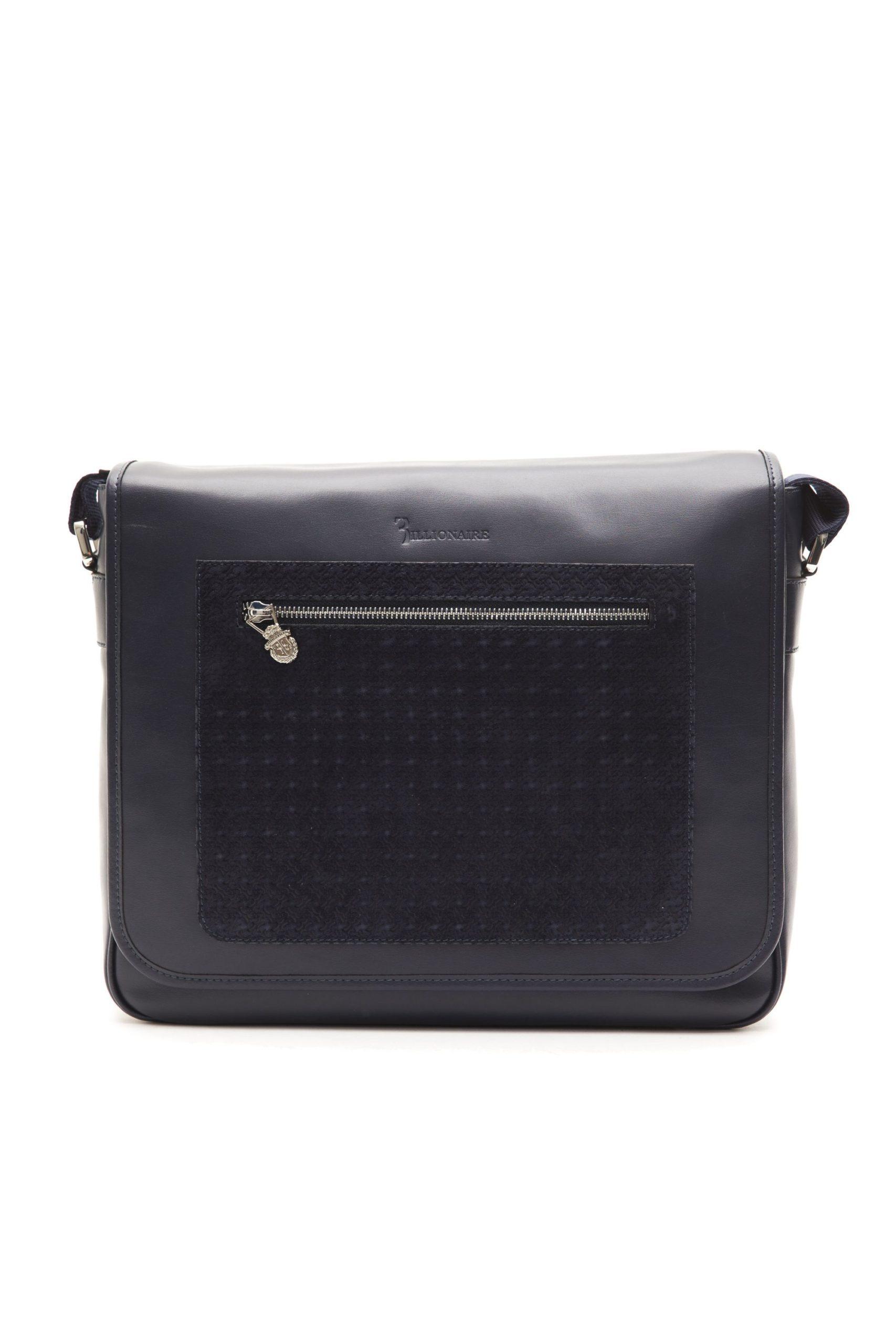 Billionaire Italian Couture Men's Messenger Bag Blue BI1004315