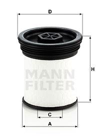 Polttoainesuodatin MANN-FILTER PU 7006