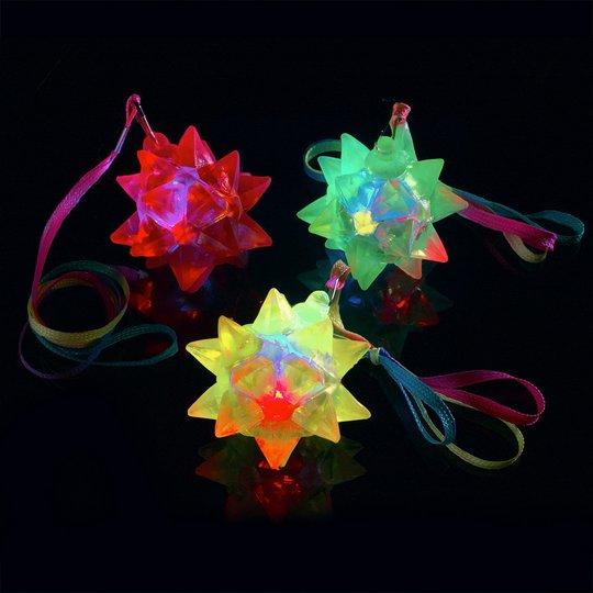 Halsband med Blinkande Stjärna