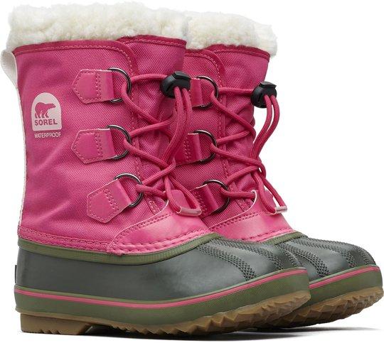 Sorel Youth Yoot Pac Vintersko, Pink/Alpine Tundra 37