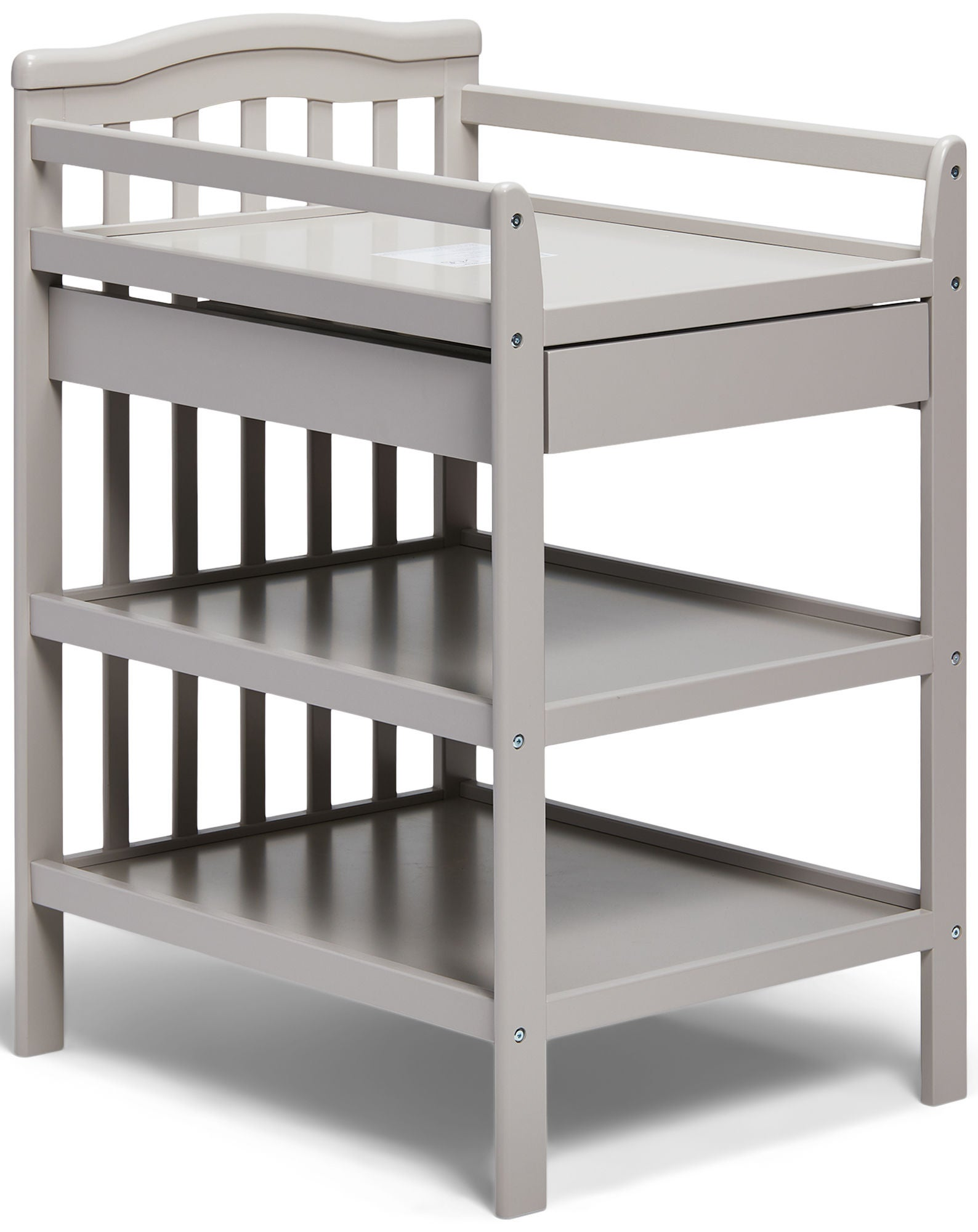 JLY Dream Hoitopöytä & Hyllyt, Warm Grey