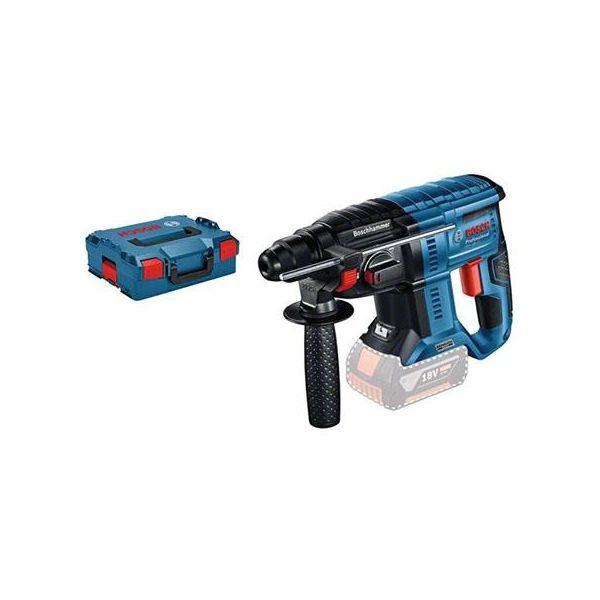 Bosch GBH 18V-21 Professional Borhammer uten batteri og lader, med L-BOXX