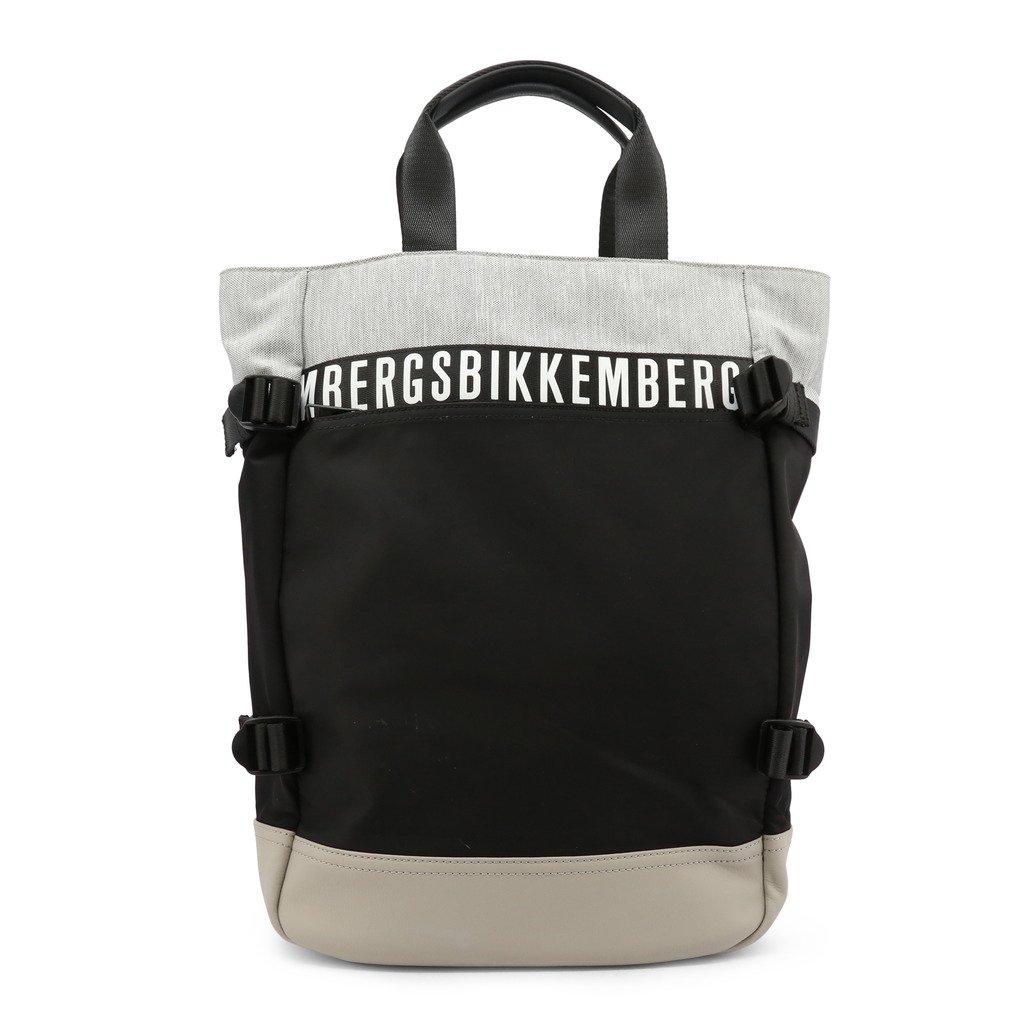 Bikkembergs Men's Backpack Grey E2APME800032 - grey NOSIZE