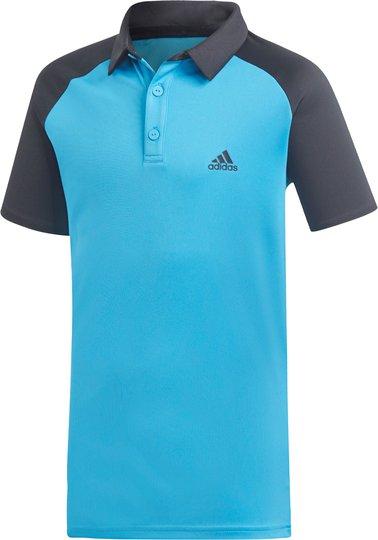 Adidas Boys Club Polo Treningsgenser, Blue 116