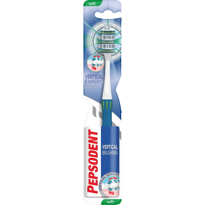 Tandborste Vertical Expert Soft - 38% rabatt