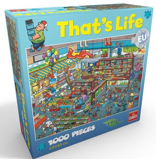 Goliath Games Puslespill That's Life - Supermarket 1000 Brikker