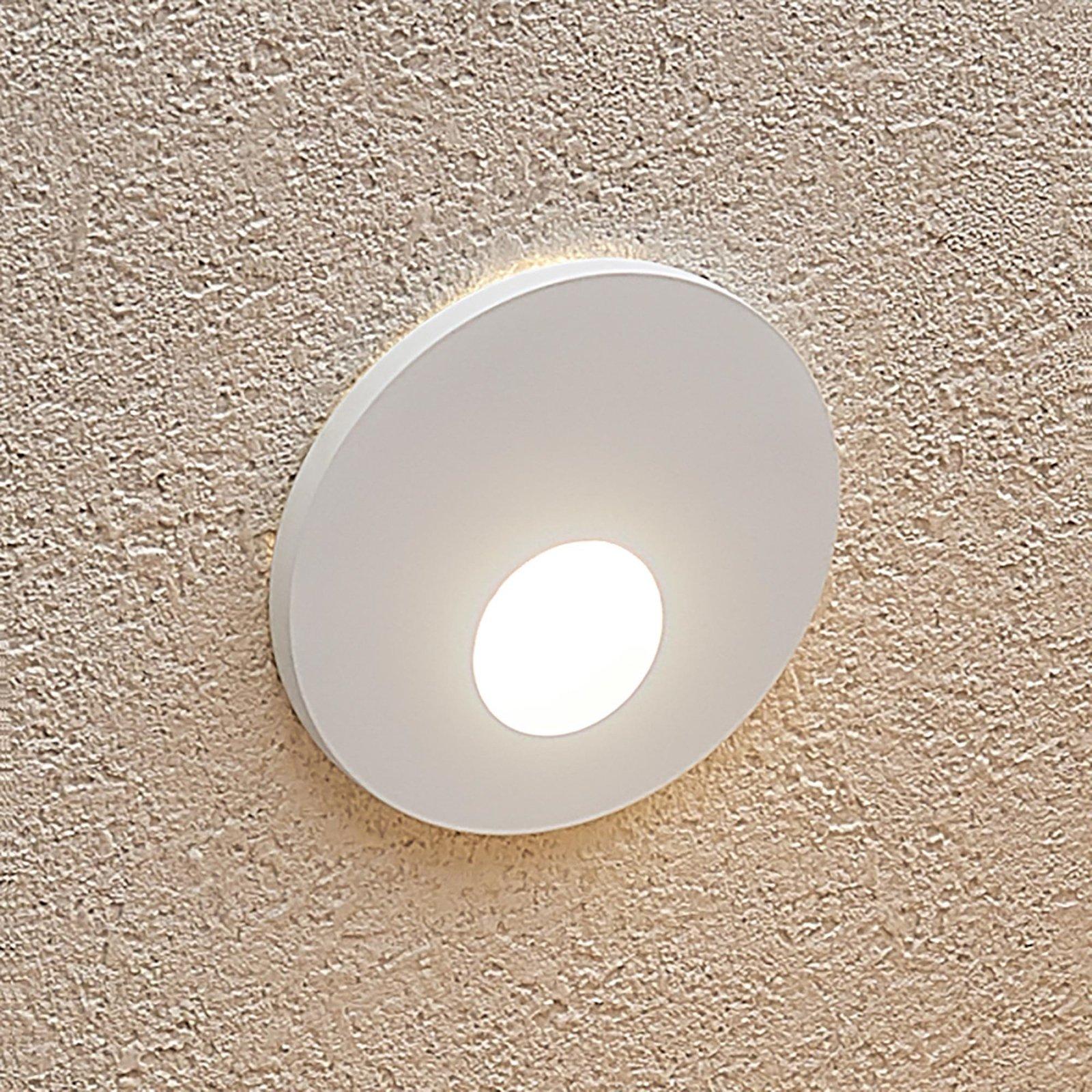 Arcchio Vexi LED-innfellingslampe, rund, hvit