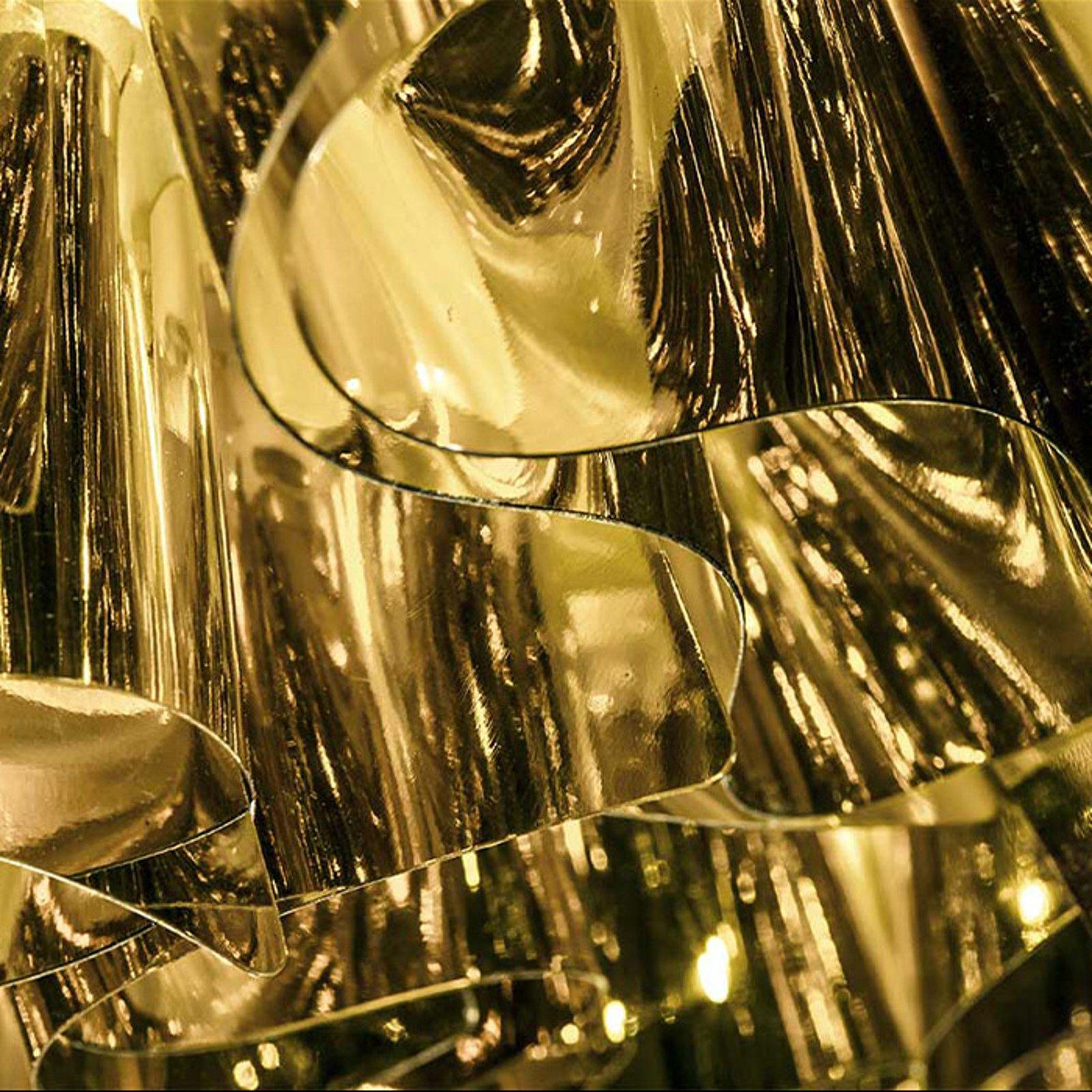 Slamp Veli Mini – design-taklampe, Ø 32 cm, gull