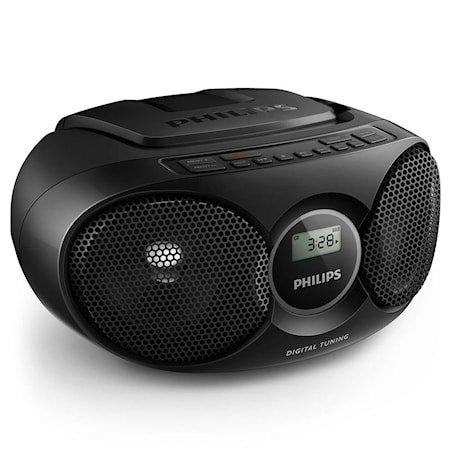 Philips Boombox AZ215 Svart