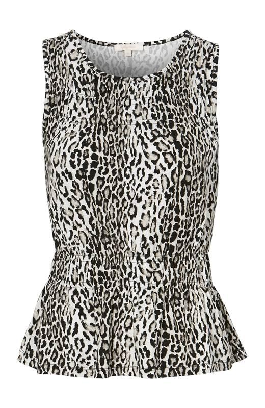 Truly mine Leopardmönstrat linne Domenica Leopard