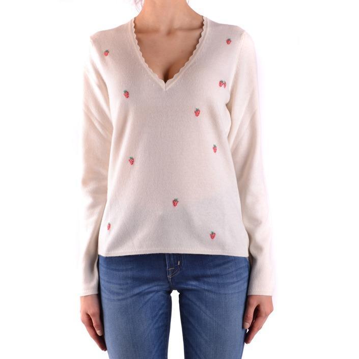 Ballantyne Women's Sweater White 160842 - white 40