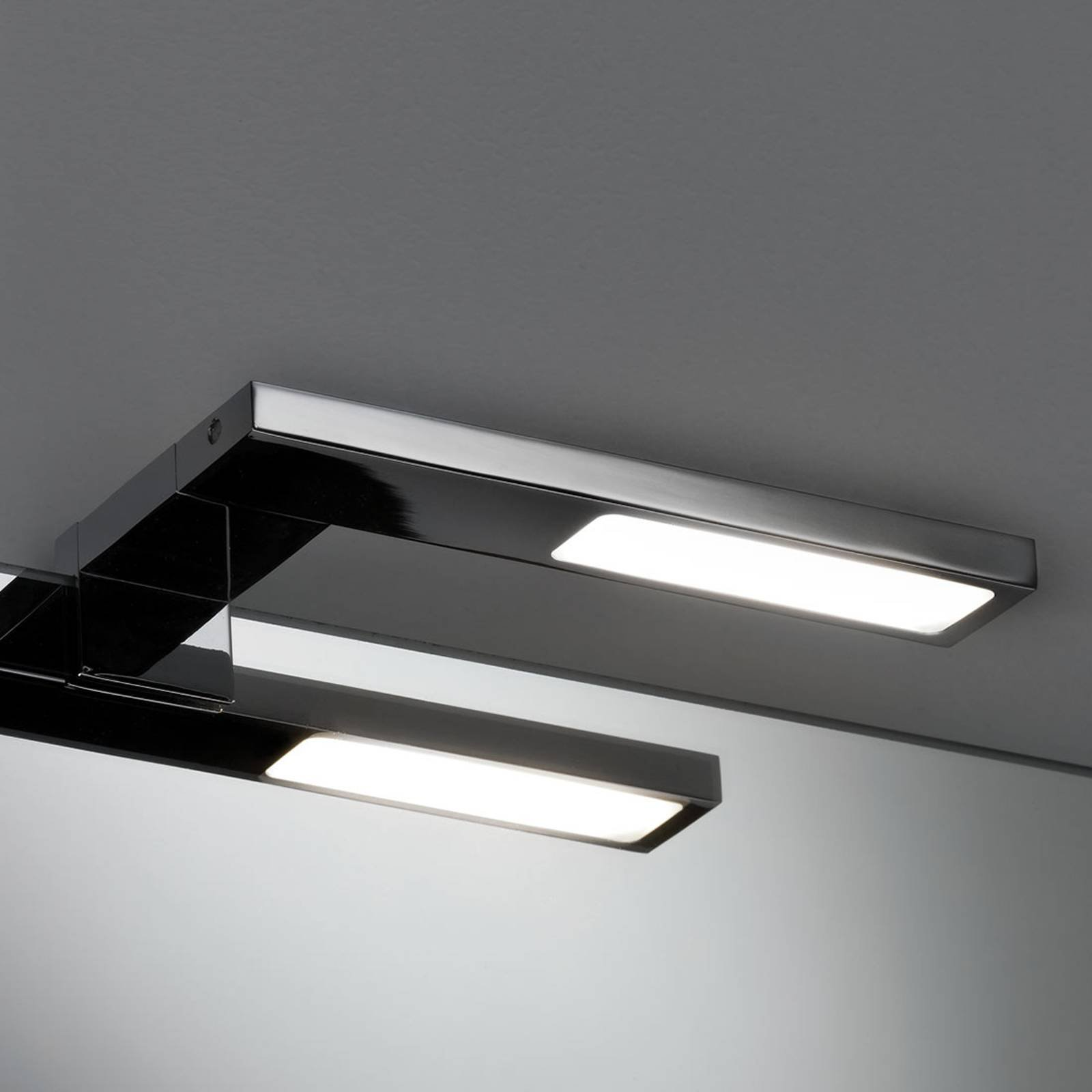 Paulmann Galeria Hook LED-speillampe, sidelengs