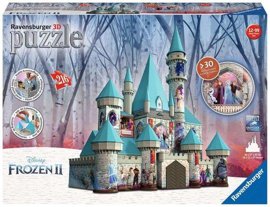 Ravensburger 3D-Puslespill Disney Frozen Slott, 216 Brikker