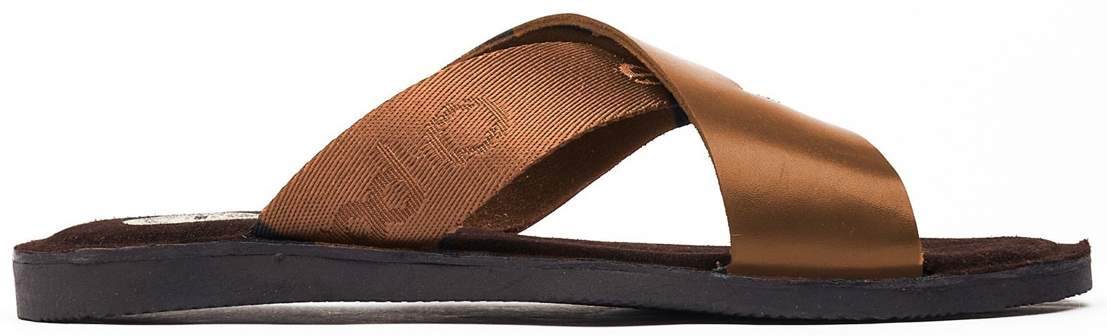Base London Men's Miso Slip On Sandal Various Colours 32261 - Tan 12